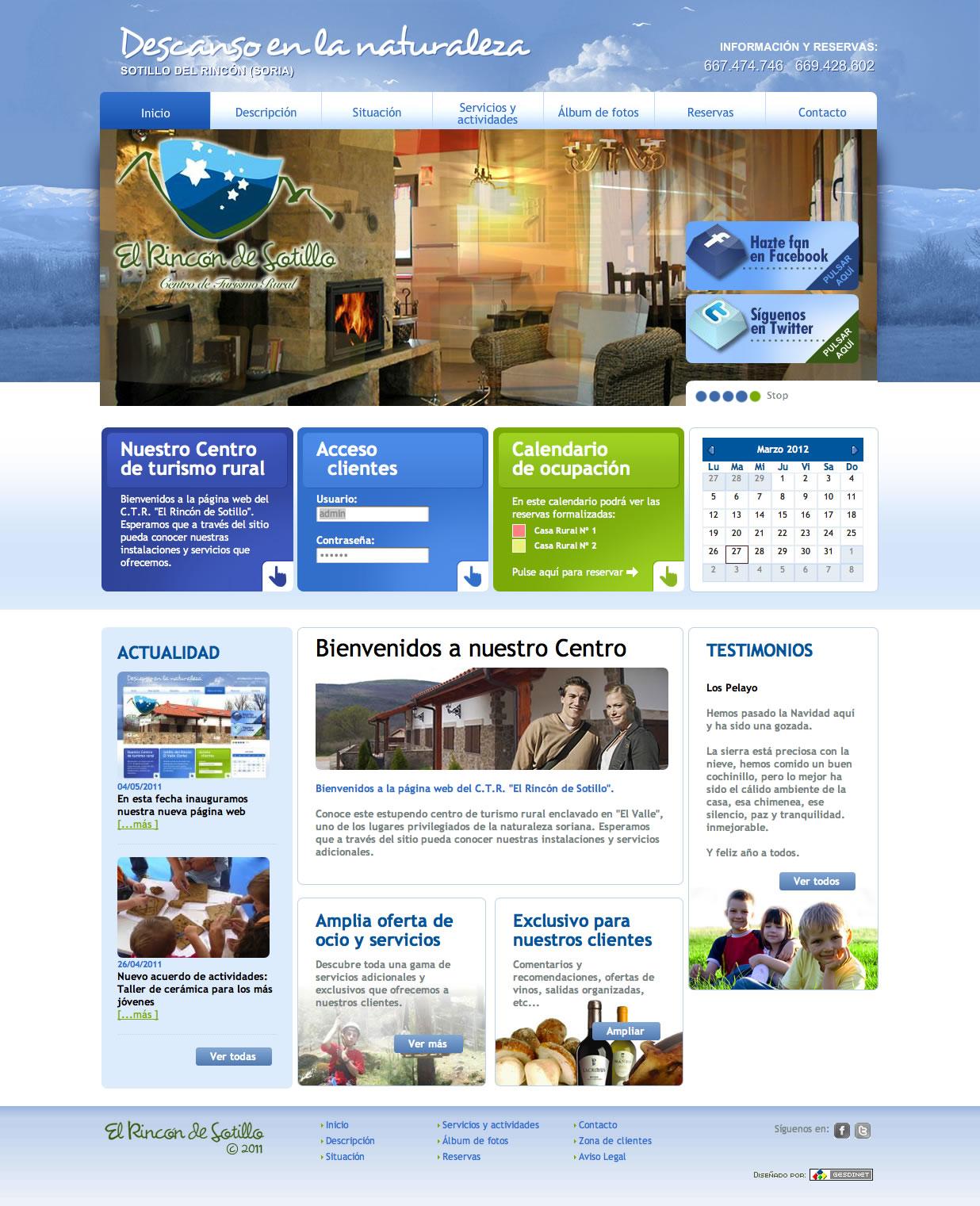 Seguimos trabajando para las empresas sorianas: web del C.T.R.