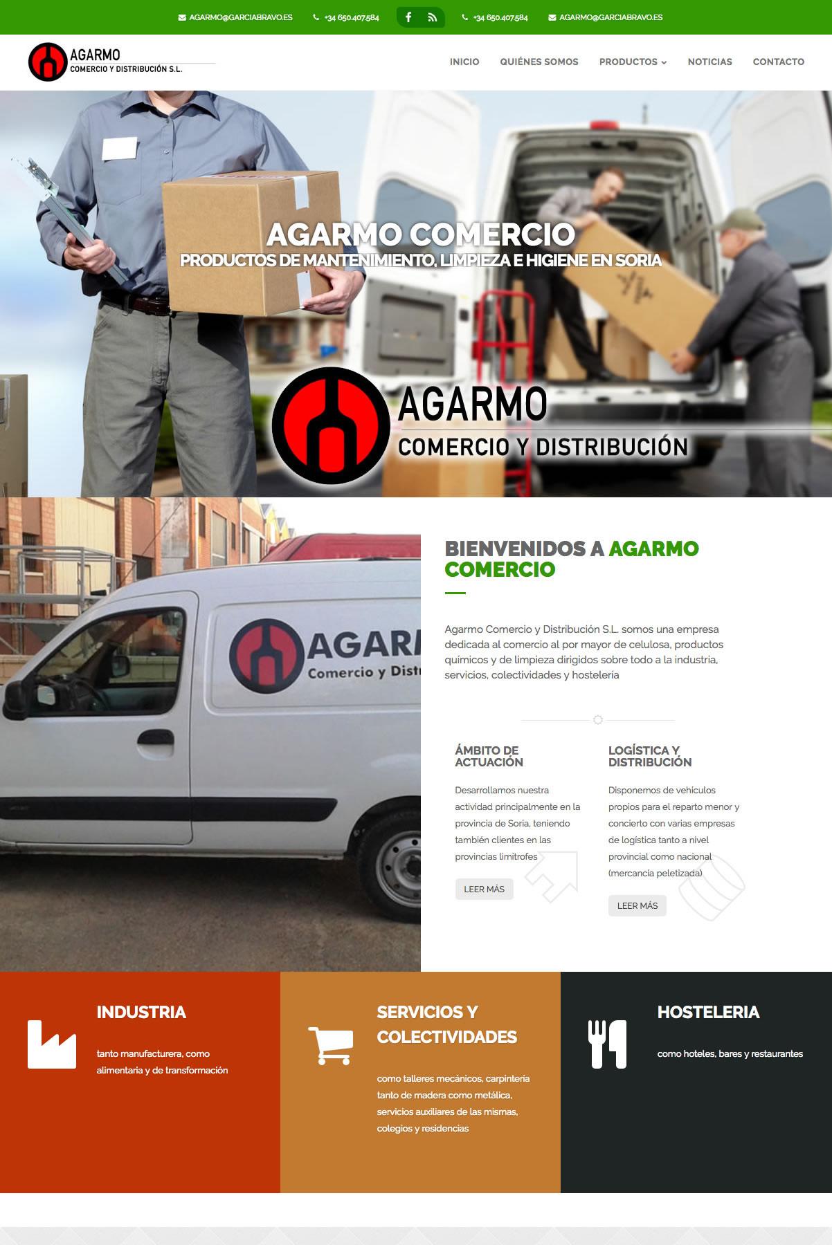 AGARMO COMERCIO Y DISTRIBUCIÓN S.L.