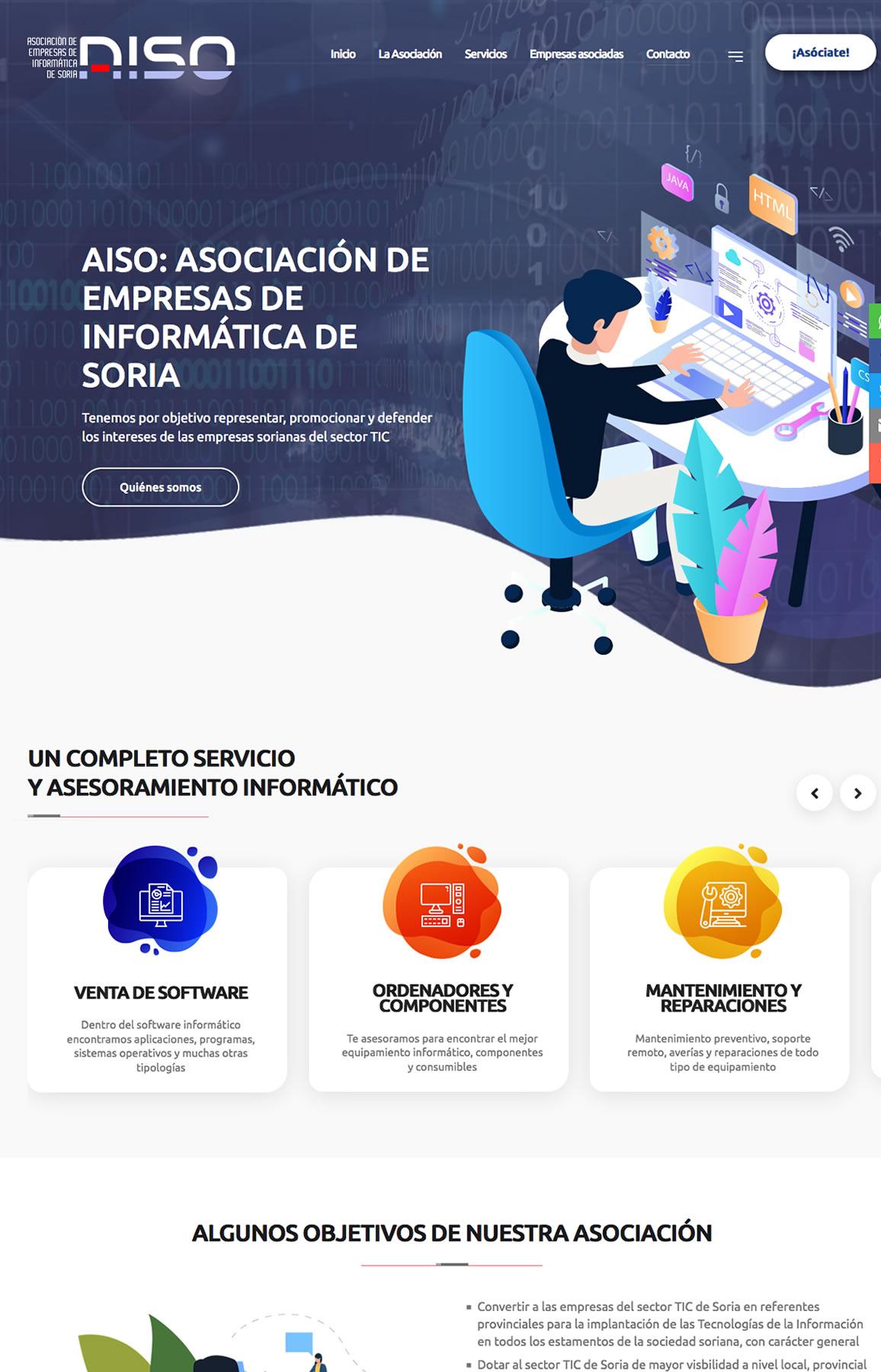 AISO. Asociación de empresas de informática de Soria