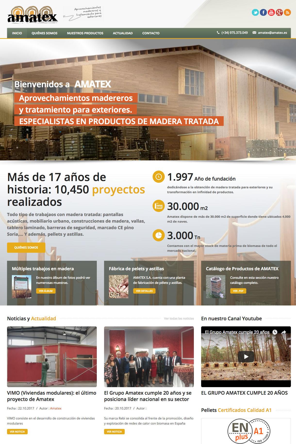 Amatex S. A.