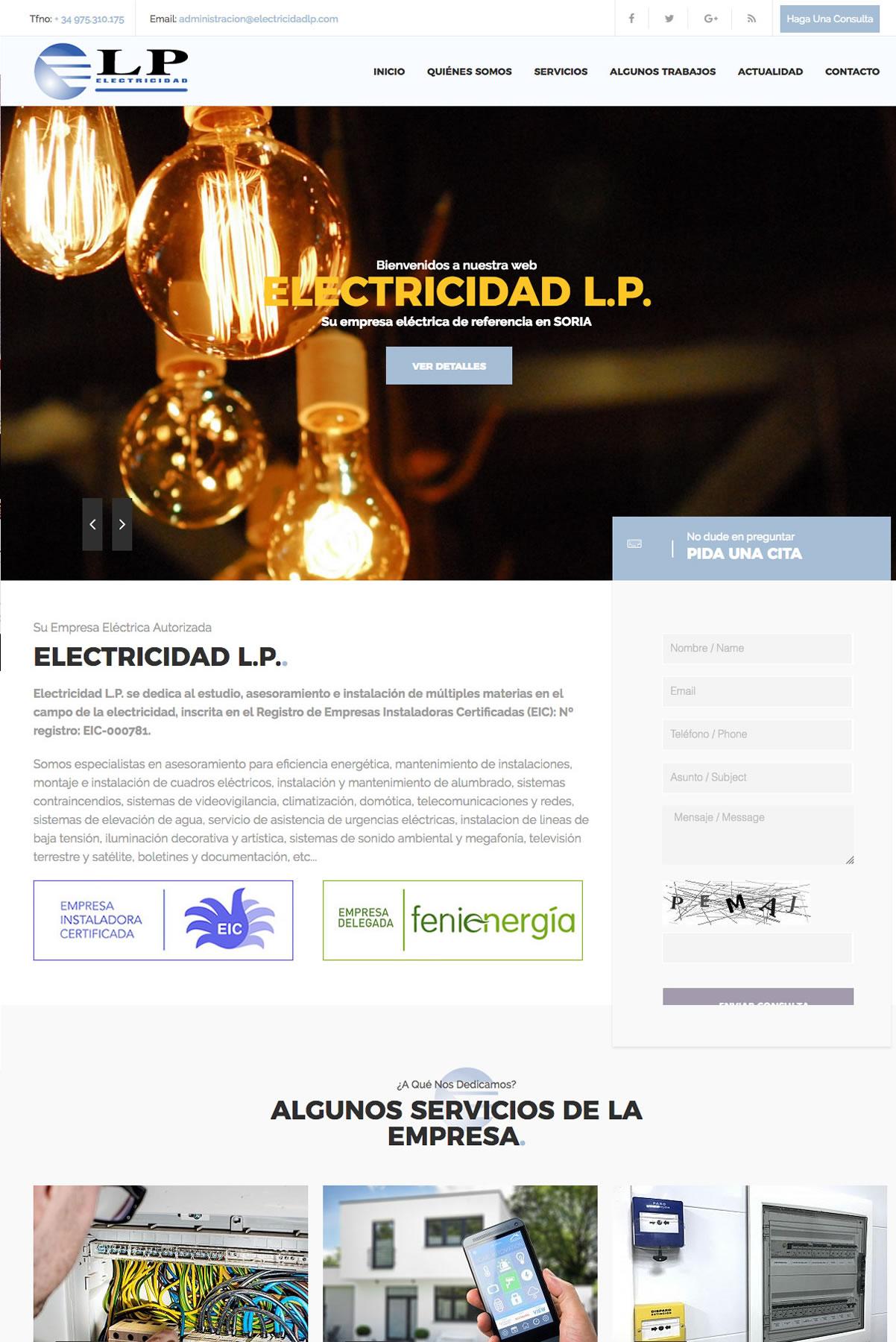 ELECTRICIDAD L.P.