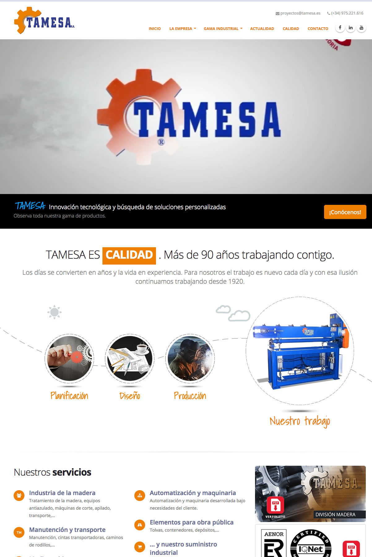 TAMESA S.A.