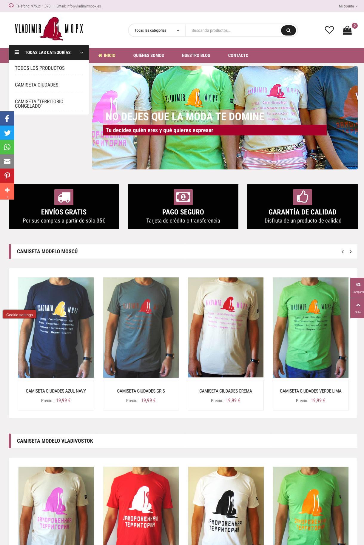 VLADIMIRMOPX (Tienda online de ropa)