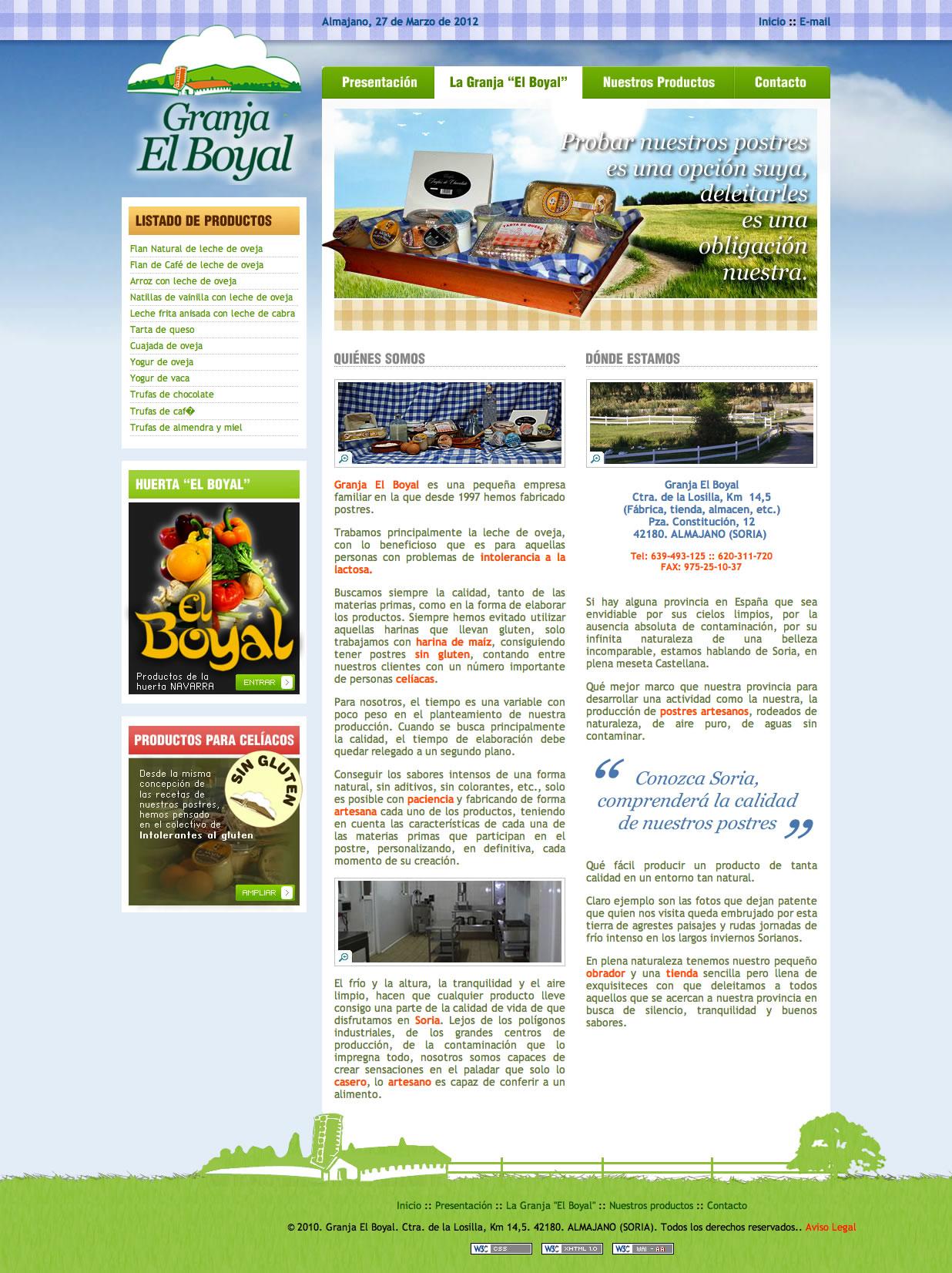 Finalizadas las páginas de Granja El Boyal y Huerta El Boyal