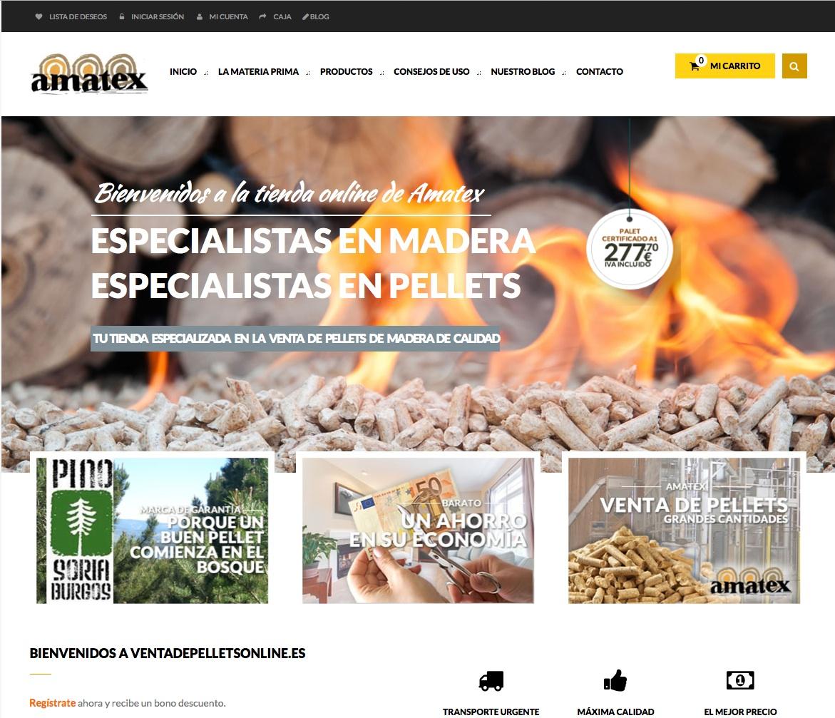 Nuevos proyectos: Restaurante Rincón de San Juan, Venta de pellets y lospequesdelacasa.es