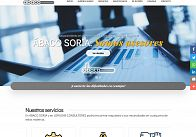 GESDINET: Desarrollo de una nueva web: ABACO SORIA S.L.