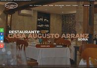 GESDINET: El restaurante Casa Augusto Arranz lanza su nueva web de la mano de Gesdinet