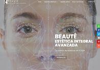 GESDINET: Realizada la nueva web de BEAUTÉ: Centro de estética integral