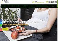 Gesdinet: Nuevo desarrollo: web de la Clínica de dietética y nutrición LAMY