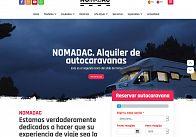 GESDINET: Próxima publicación de la nueva web de NOMADAC: Alquiler de autocaravanas