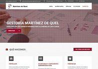 Gesdinet: Finalizada la web de la Gestoría Martínez de Quel