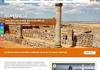 GESDINET: Elaboradas tres nuevas web de Tierraquemada: Numancia, Celtiberia soriana y Celtiberia histórica