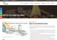 GESDINET: Renovación de la web de REBI, Recursos de la Biomasa