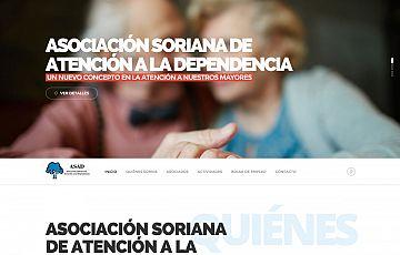 Nuevas páginas finalizadas: Asociación Soriana de Atención a la Dependencia y Restaurante Baluarte