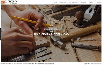 Finalizados dos nuevos trabajos: maderapinoinsigne,es y ebanisteriaelfresno.es