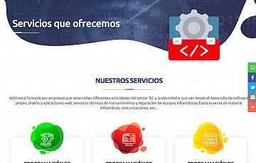 Las empresas de informática de Soria (AISO) lanzan su catálogo online de productos y servicios