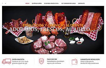 Cárnicas llorente confía de nuevo en Gesdinet para su nueva tienda online