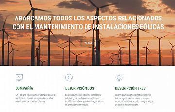 Nueva web de Greenwork Technology: mantenimientoseolicos.com
