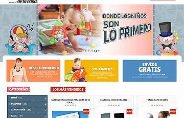 Tienda online finalizada: lospequesdelacasa.es