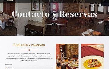 Hemos terminado la web del Restaurante Rincón de San Juan