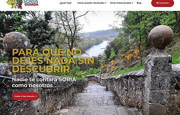 Nuevo trabajo: SORIAGUIADA, web de un guía turístico de Soria