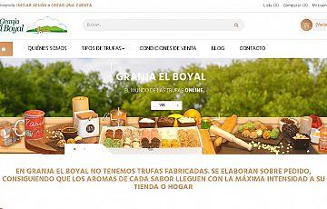 Nueva tienda online de productos sorianos: Trufas de la Granja El Boyal