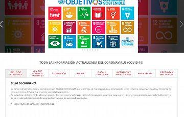 Próxima realización de la nueva web de la Cámara de Comercio de Soria