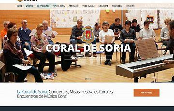 Otro trabajo en funcionamiento: Coral de Soria